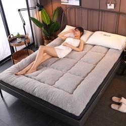 (總)麥億彩 2019新款10cm羊羔絨床墊