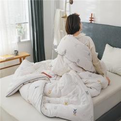 (总)加厚保暖新疆棉花被芯空调被子纯棉被棉絮春秋冬被四季通用