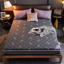安芬家纺 针织床垫立体床垫硬质棉水洗棉磨毛床垫加厚10厘米