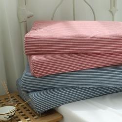 微枕芯2019新款无印良品风全棉亲肤棉单人护颈乳胶枕