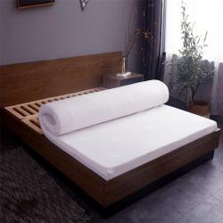 睡趣 2020热卖泰国天然乳胶床垫学生款床褥垫子(配内外套)