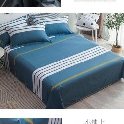 库存128*68全棉单件床单230*250cm