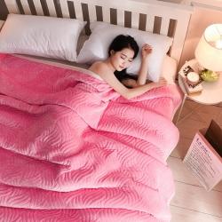 (总)美式复合休闲毛毯三层加厚法兰绒休闲毯牛奶绒毯加厚绒床单