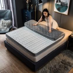 优眠坊 2019新款针织棉波浪立体床垫 白色