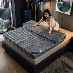 优眠坊 2019新款针织棉波浪立体床垫 灰色