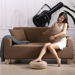 2019新款高端金針提花沙發套簡約彈力通用沙發墊客廳布藝