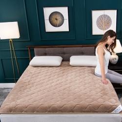新品寶寶絨床墊加厚保暖學生宿舍上下鋪床褥子