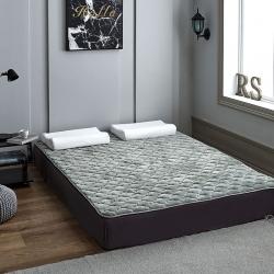 2019朵絨家紡(550g加厚)法萊絨夾棉軟床墊  墊子