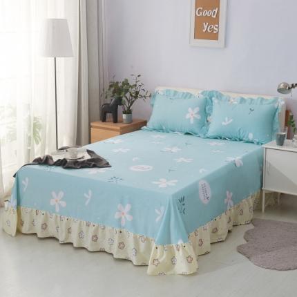(总)爱妮玖玖 全棉印花床裙式床单暖冬系列