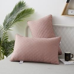 新款枕頭 典雅款磨毛羽絲絨枕芯