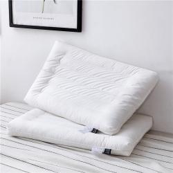 新款枕头 全棉圆角抗菌低枕芯 大号柔软款抗菌