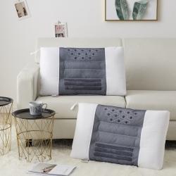 新款枕芯 全棉决明子磁石按摩枕头