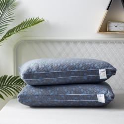 新款枕芯 深海蓝石墨烯热熔枕头