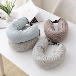 新款枕芯 細微納米粒子U型枕頭