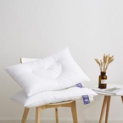 新款枕芯 心心相印羽丝定型枕头