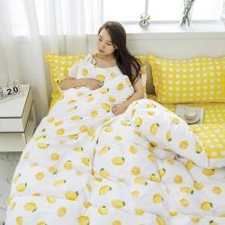 思铂睿 2019新款12868全棉床单四件套 一颗柠檬