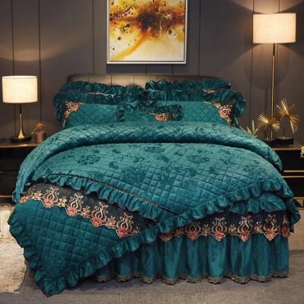 (总)好眠好梦 2019迷迭香暖绒被套夹棉床裙四件套