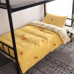 (总)羽舞家纺 全棉学生三件套纯棉宿舍单人床卡通套件