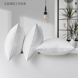 夏冬 特價全棉白枕芯 酒店枕芯枕頭