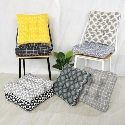 (總)李帥家居加厚立體鑲邊棉麻坐墊出口外貿日式坐墊沙發墊定制