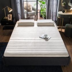 2019年新款水晶绒乳胶床垫高弹记忆海绵抗压耐压床垫