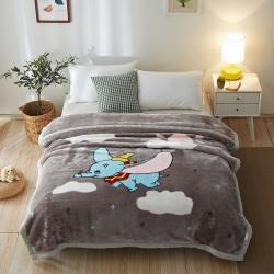 (总)毛毯 凤凰林拉舍尔毛毯双层40个花型4斤-12斤全规格