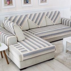 棉線編織沙發墊全棉線棉沙發墊坐墊特價新款沙發套靠背巾