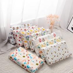 網紅兒童乳膠枕頭促銷泰國學生乳膠枕芯1-3-8-12歲護頸枕