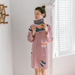 小春日和 2019針織棉睡衣第一季 小惡魔睡裙