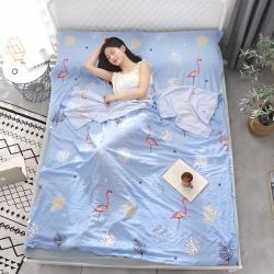 (总)化纤水洗棉隔脏睡袋