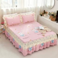 :爱妮玖玖 单品床罩类1-1:全棉普款单层床罩萌夏卡通系列