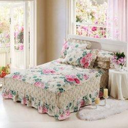 爱妮玖玖 单品床罩类1-1:全棉普款单层床罩