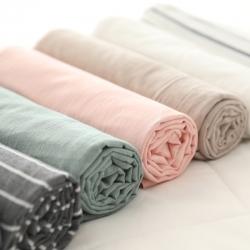 MRPIG全尺寸定制水洗棉床單單件純棉學生宿舍單雙人全棉被單