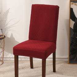2020款金針提花椅套彈力連體椅子套 亞馬遜跨境外貿專供