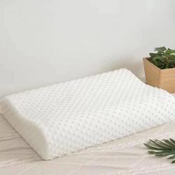 微枕芯泡泡紗頸椎枕頭慢回彈記憶棉枕芯單人