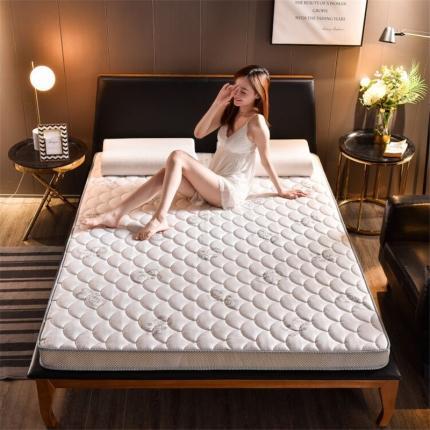 钻爱床垫2021乳胶记忆棉立体透气床垫立体加厚10cm蝶恋白