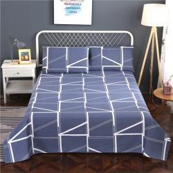 (總)首愛 新款老粗布床單老粗布涼席三件套二件套單學生席子