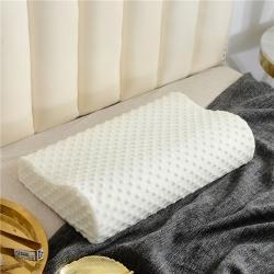 將萊枕業波浪枕白泡泡慢回彈記憶枕頭頸椎枕低枕芯護頸枕助眠