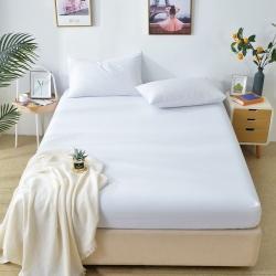 (總)仟網匯2020新款全棉素色純色床笠單品可搭配枕套