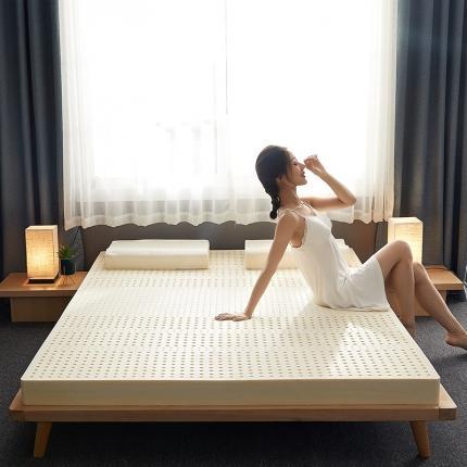 钻爱床垫 2021新款春夏新款纯乳胶床垫 平板舒适款