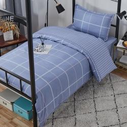 錦潤 13372學生宿舍三件套六件套 格瑞斯-藍