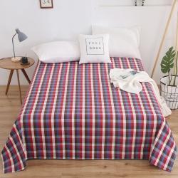 (總)首愛家紡 2020全棉色織老粗布床單