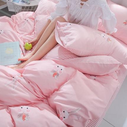 (总)澳玛尼 2020新款全棉三件套学生床0.9米床套件