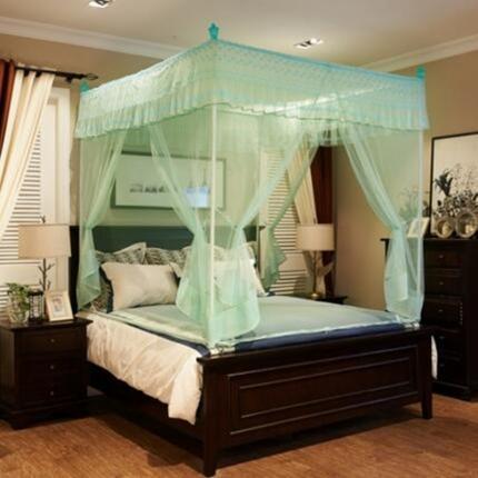伊而梦蚊帐 8835朵菲娅系列坐床蚊帐 水绿