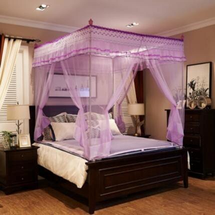伊而梦蚊帐 8835朵菲娅系列坐床蚊帐 紫色