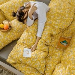 (總)萊登卡奴 2020新款全棉小碎花工藝款系列床笠款