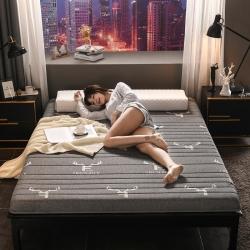 2019年新款針織提花乳膠床墊高彈記憶海綿抗壓耐壓床墊