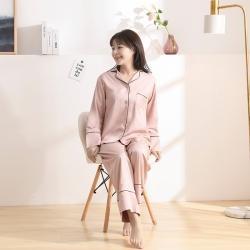今喜 2020天絲60S睡衣褲女士款(適合90-130斤) 睡衣-豆沙