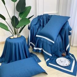 (總)家家發60s天絲玻尿酸夏被四件套床單枕套三件套空調被