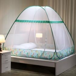 2020新款羅萊學生免安裝蚊帳帳篷蒙古包 啄木鳥